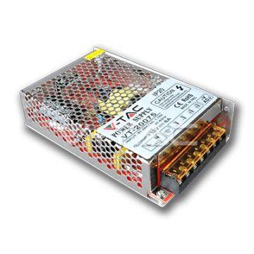 VT-20075 Alimentation LED IP20 75W 12V 6A Metal
