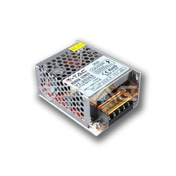 VT-20025 Alimentation LED IP20 25W 12V 2,1A Metal