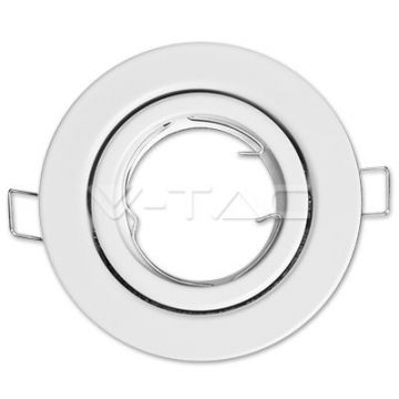 Colerette ronde orientable blanc V-TAC VT-7227