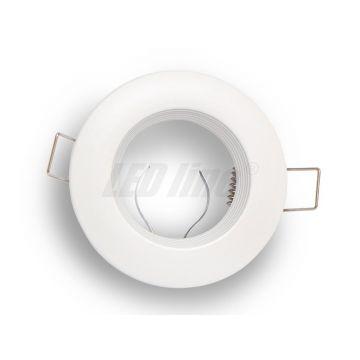 Collerette arrondie fixe - blanc mat LED LINE