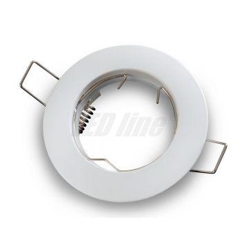 Collerette arrondie fixe - mat fonte LED LINE