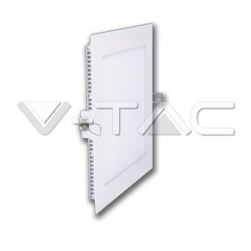 Premium Panel Downlight Carré 12W 3000K VT-1207