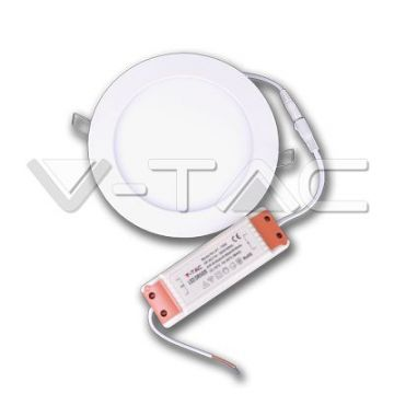 VT-1207 Premium Panel Downlight Rond 12W 4500K