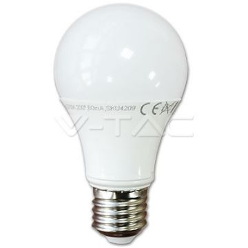 LED Bulb - 10W E27 A60 Thermoplastic 3000K Dimmable