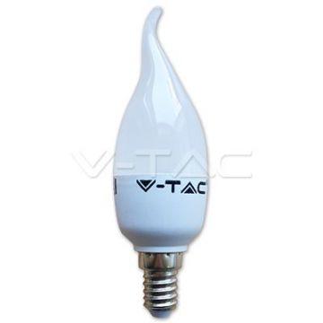 Ampoule LED 4W E14 Flamme Bougie 4500K VT-1818TP