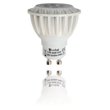 Ampoule led GU10 6.5W dimmable 3000K LUCIBEL LGU6.5WW10A35I2