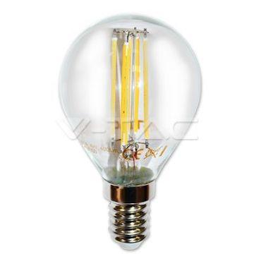 Ampoule LED 4W Filament  E14 P45 6000K   VT-1996