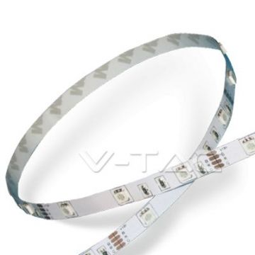 VT-5050 IP20LED Strip SMD5050 - 30 LEDs RGB Non-waterproof