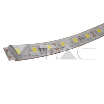 VT-5050 IP65LED Strip SMD5050 - 60 LEDs 3000K IP65