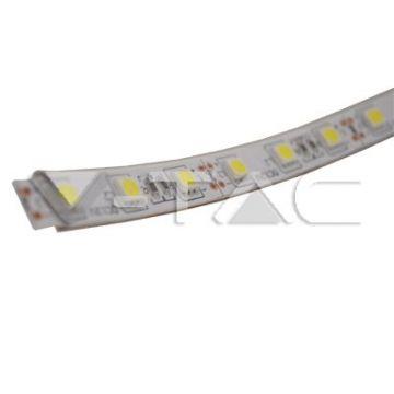 VT-5050 IP65LED Strip SMD5050 - 60 LEDs 3000K IP65