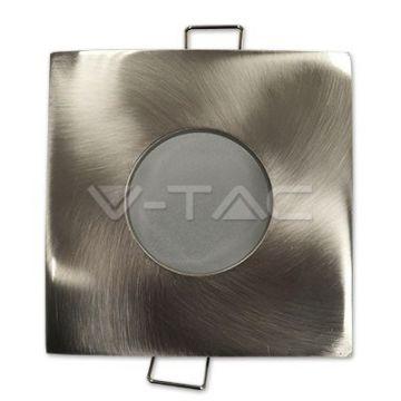V-TAC 3616 - Collerette étanche carrée alu brossé