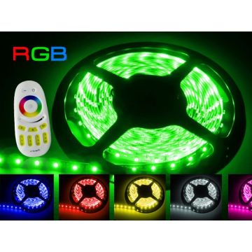 PACK Ruban LED RGB IP65 - Radio fréquence
