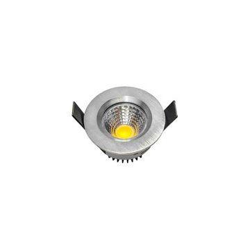 Spot COB INCA IP20,    Ø78mm, 4000K, 550lm, Angle Faisceau 45°, 8W, 22,7V DC, Alu Brossé