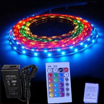 Pack ruban LED RGB - 10M 12V IP20