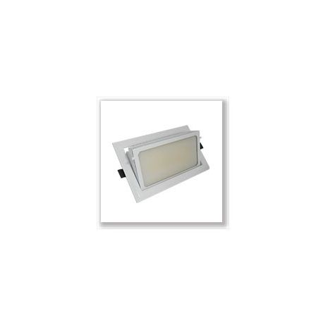 SPOT ENCASTRABLE ORIENTABLE 230V  230 X 140  30 Watt BLANC 4000°K