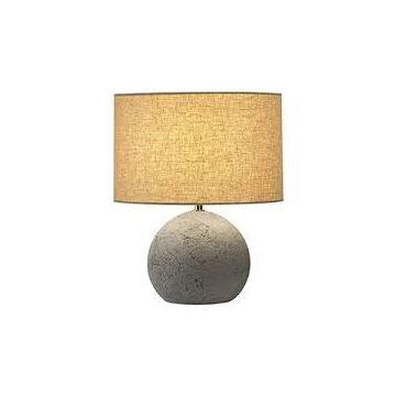 Périmé - alternative : 155583 FENDA, abat-jour rond, Ø 30cm, beige, textile