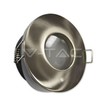 VT-787RDGU10 Fitting Matt Round ?84 Satin Nickel