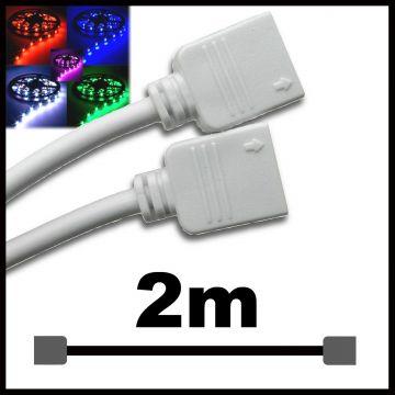 Ralonge pour ruban LED RGB 2M