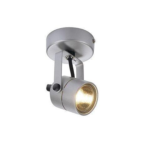 SPOT 79 230V applique et plafonnier, gris argent, GU10, max. 50W