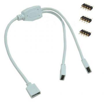 connecteur femelle LED RGB