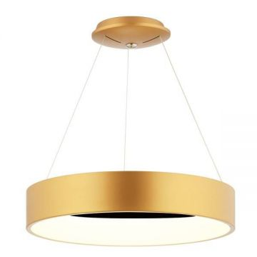 Suspension Design contemporain Anneau D'Or - Mimax LED DECORE
