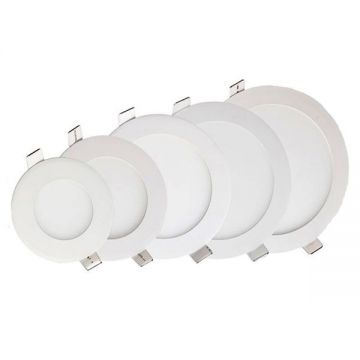 18W LED BUILT-IN MODULE Rond Blanc Froid - avec DRIVER