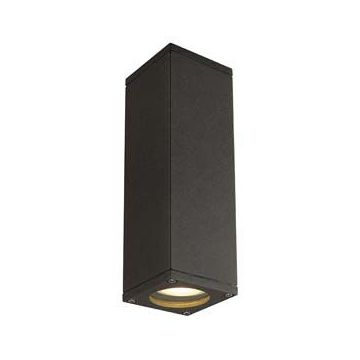 THEO UP-DOWN OUT applique, carrée, anthracite, GU10, max. 2x35W