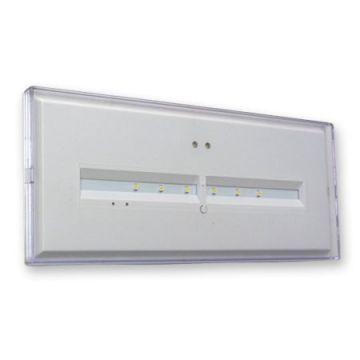 Bloc Autonome Autotestable Classe II - IP 42 / IK 04 - 230V 50Hz - Leds