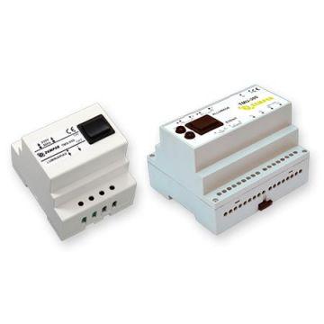 Télécommande - Double fonction - Contact à clefs - 230V-50Hz - 300 - 6 modules - 12Vcc