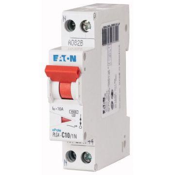 Disjoncteur PH+N 10A 4.5k/6KA Courbe C - VIS