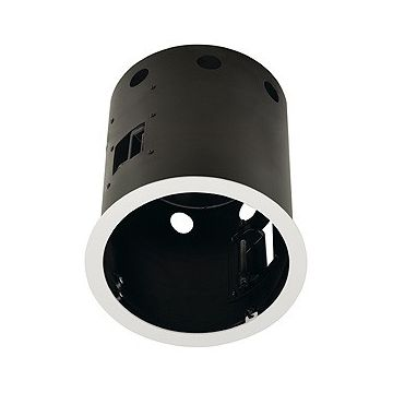 AIXLIGHT PRO 1 ROND AVEC COLLERETTE, cadre d'installation, blanc mat/noir