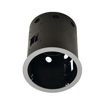 AIXLIGHT PRO 1 ROND AVEC COLLERETTE, cadre d'installation, gris argent/noir