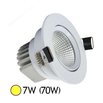 Spot LED orientable 7W + Alimentation electronique