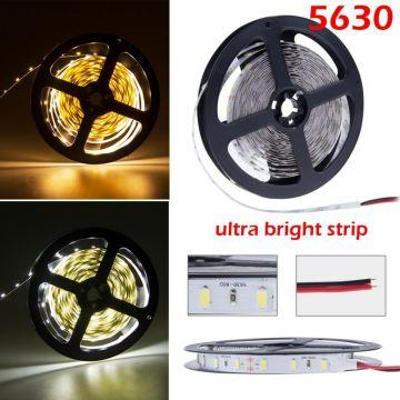 Ruban LED 5M blanc froid SMD5630 1320 lumens /M
