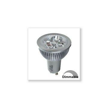 GU10 dimmable 4W 360 lumens