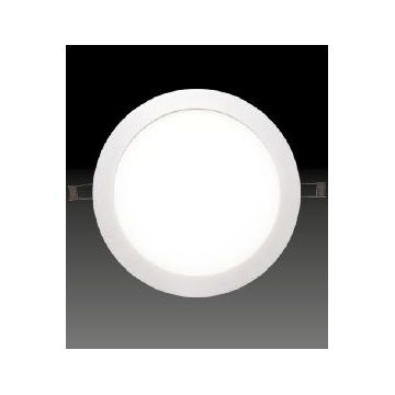 Downlight Ø240mm 18-20W 1500Lm 3000K BA110° Dimmable Blanc