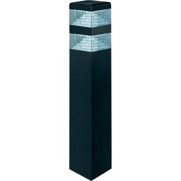 Borne LED pyramide couleur noir 10.5W 4000K 60cm LUMIHOME