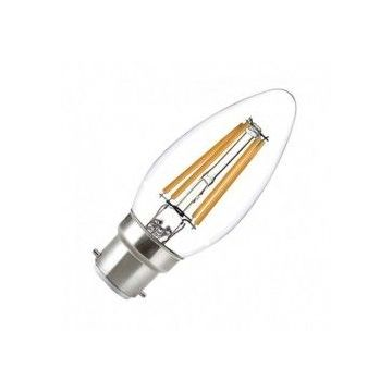 LED FIL COB FLAMME B22 4W 2700°K CLAIRE BLISTER