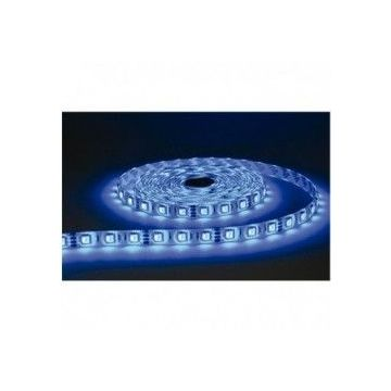 BANDE LED  BLEU  5 M  30 LEDS   7.2 W / M IP20 24V