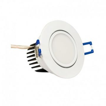 Spot led orientable 5W 3000K VISION-EL 7635C + alimentation