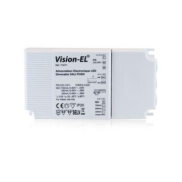 ALIM  LED VISION-EL 100-240V DALI PUSH 28W-42W 350-700mA IP20