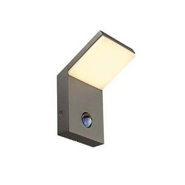 ORDI, applique LED, anthracite, 3000K, 9W, avec détecteur de mouvement