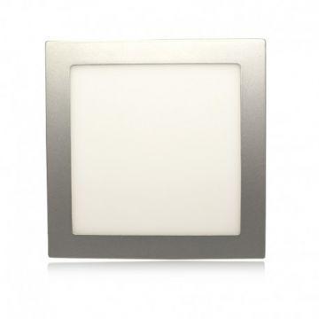LED PLAFOND  225 X 225  20  Watt  ALU 3000°K