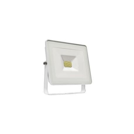 Projecteur LED 30W - Blanc chaud + Bras déporté blanc 50cm