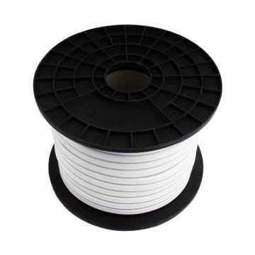 BOBINE LED  5050  50 M 8W/M 230 V IP65   BLEUE