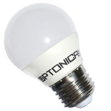Ampoule LED E27 G45 6W 220V Blanc chaud