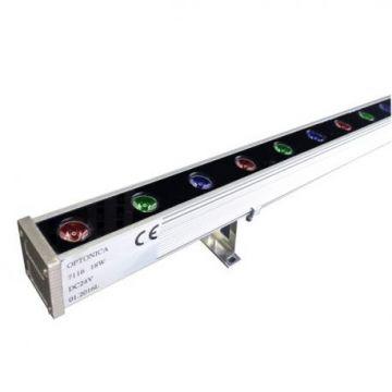 WW7116 18W/24V LED WALL WASHER RGB 1M - IP65 EPISTAR