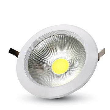 30W LED COB Downlight Round A++ 120Lm/W Warm White