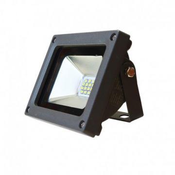 Projecteur LED Plat 10W 6000K Gris VISION-EL 80011