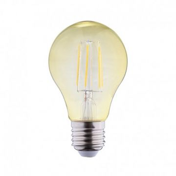 LED FIL COB BULB E27 4W 2700°K GOLDEN BOITE